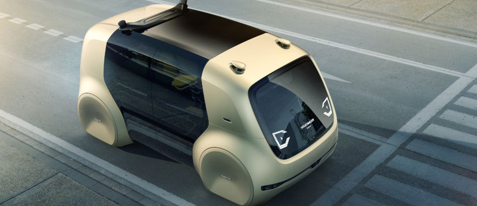 Volkswagen self-driving car